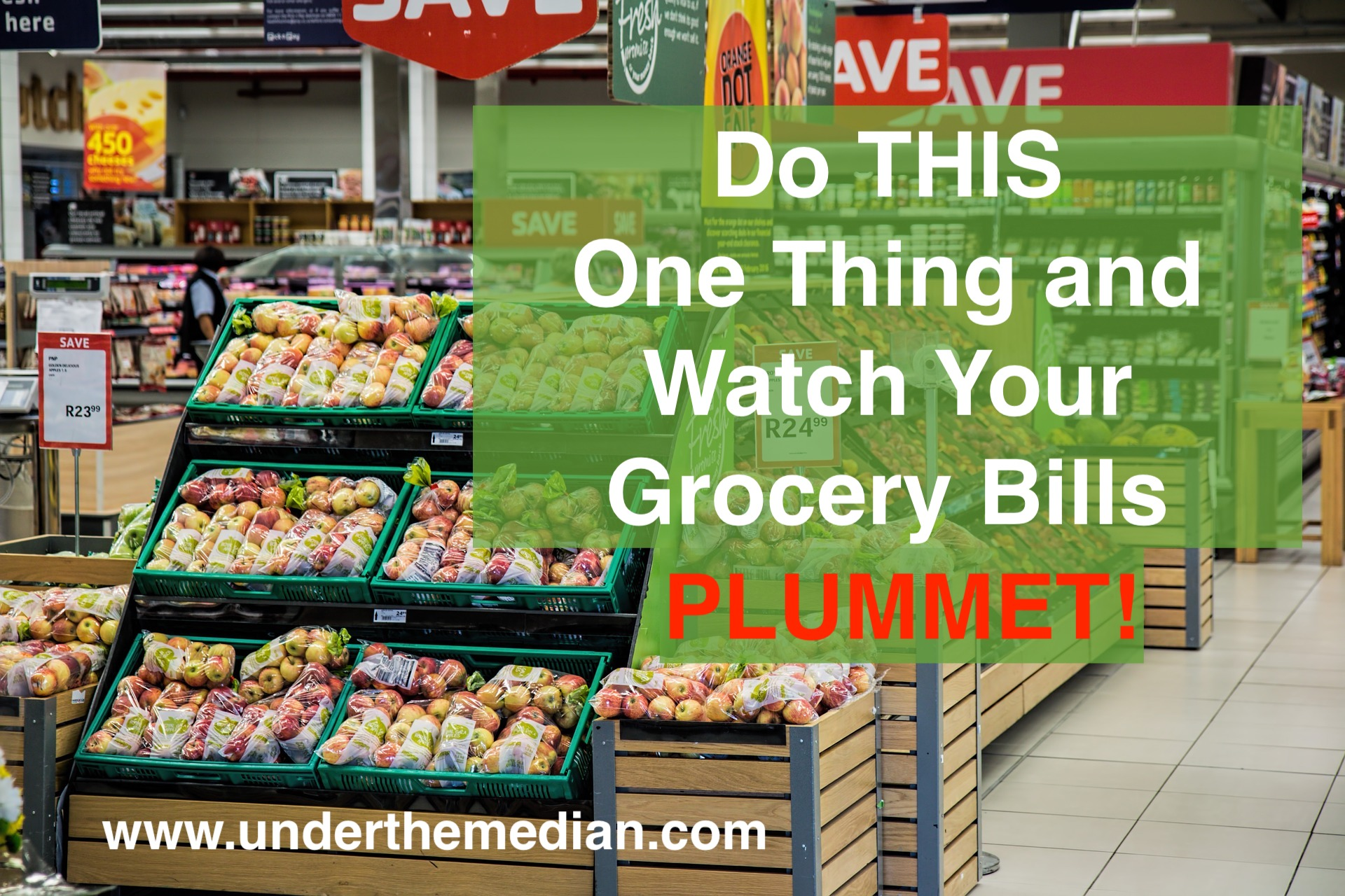 Stop Wasting Food and Watch Your Grocery Budget PLUMMET!