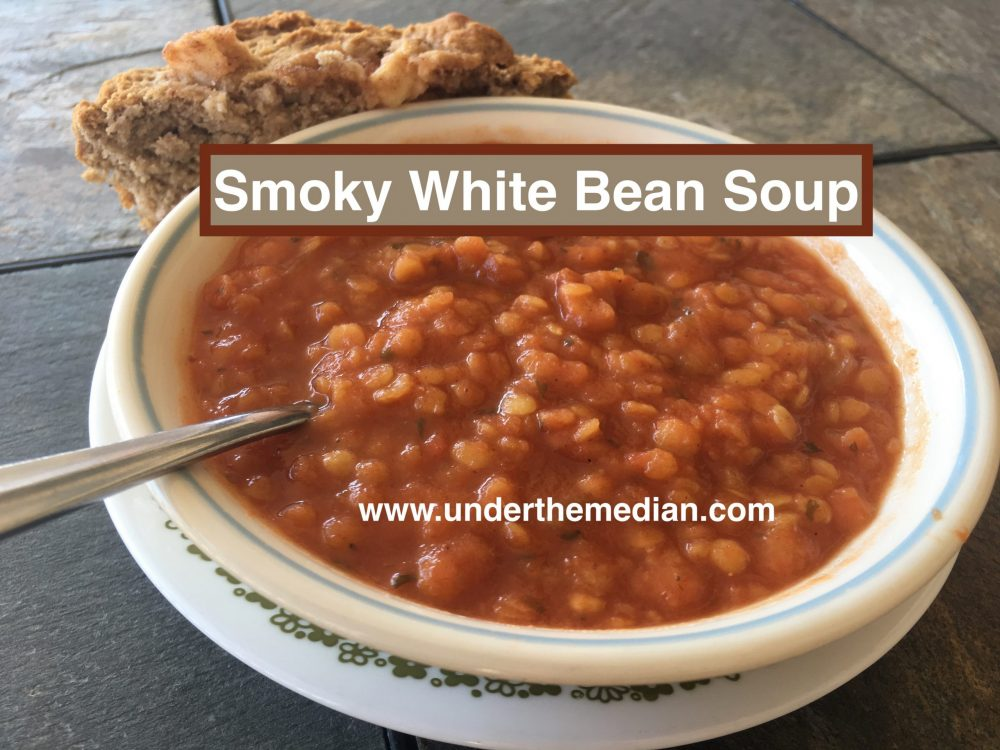 Vegan Smoky White Bean Soup