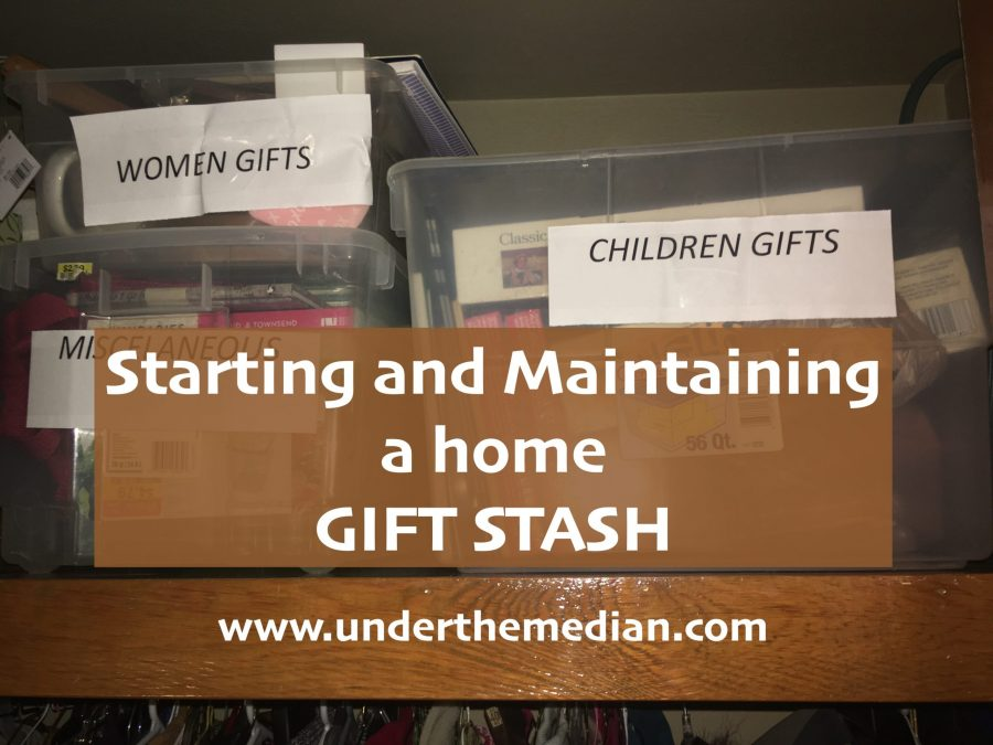 Easy Hacks for Creating and Maintaining a Gift Stash