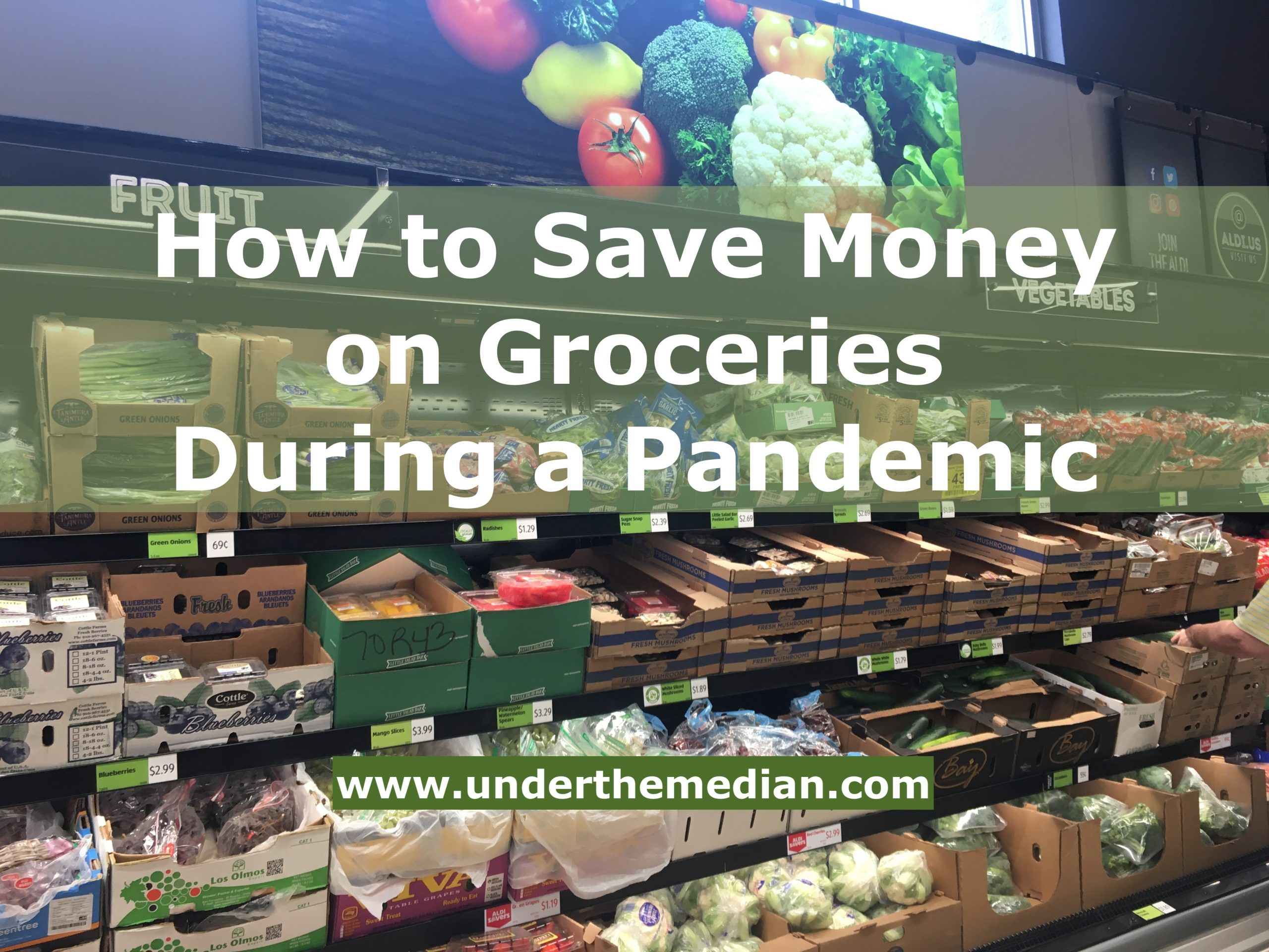 How to Save Money on Groceries During a Pandemic