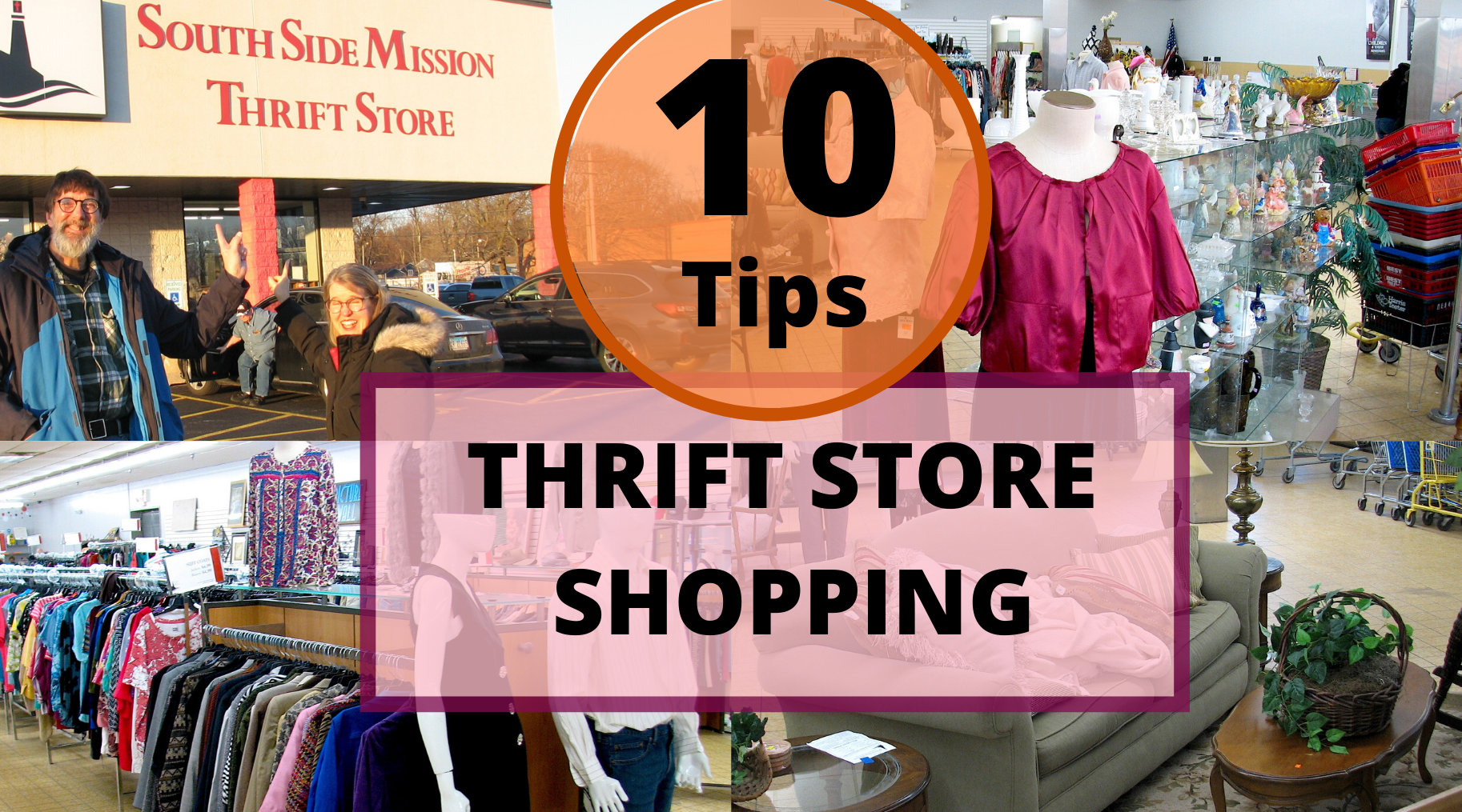 10 Important Tips for Successful Thrift Store Shopping