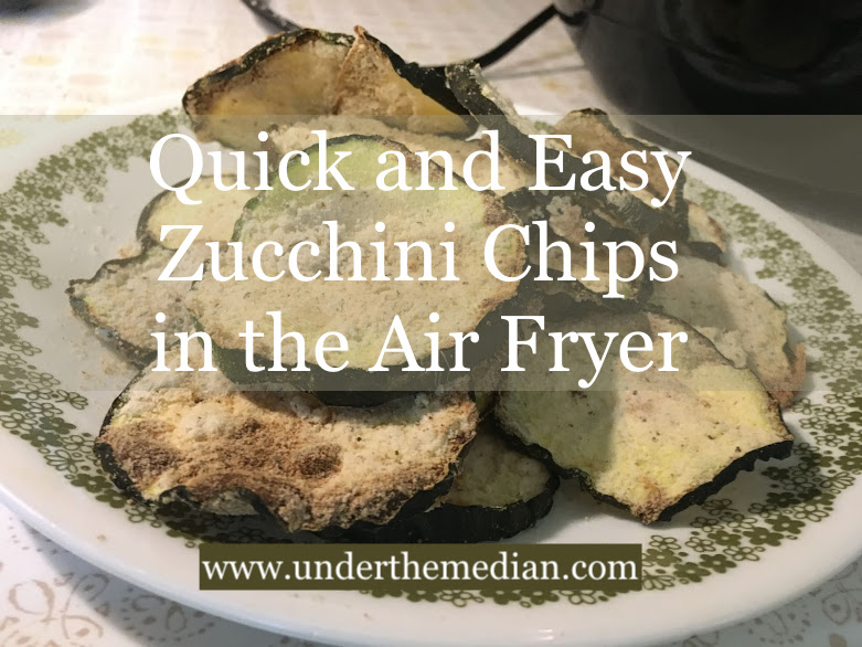 Quick and Easy Zucchini Chips in the Air Fryer