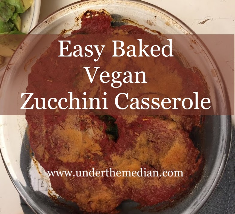 Quick and Easy Baked Vegan Zucchini Casserole