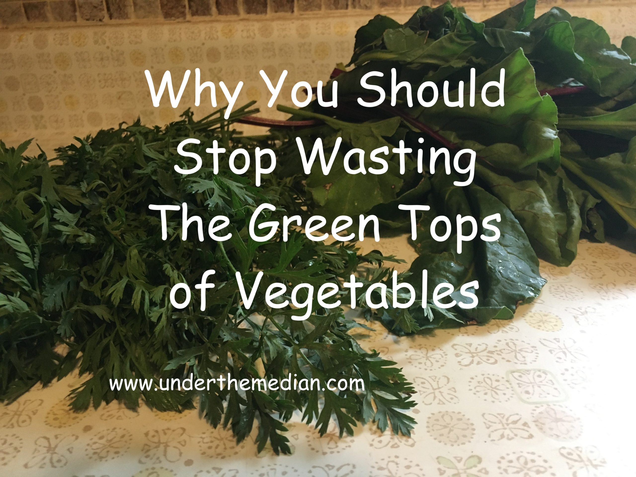 Why You Should Stop Wasting the Green Tops of Vegetables
