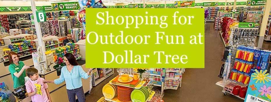 Enjoy Outdoor Fun on the Cheap with Dollar Tree