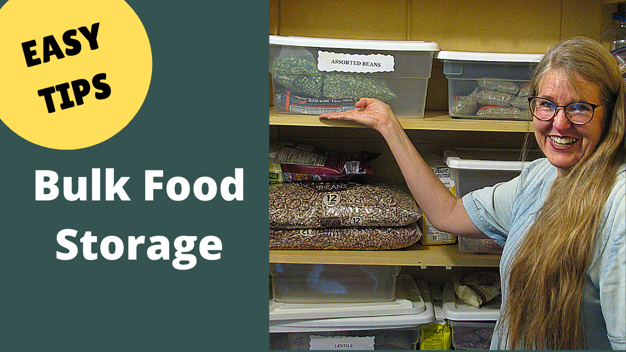 How to Safely and Effectively Store Bulk Food
