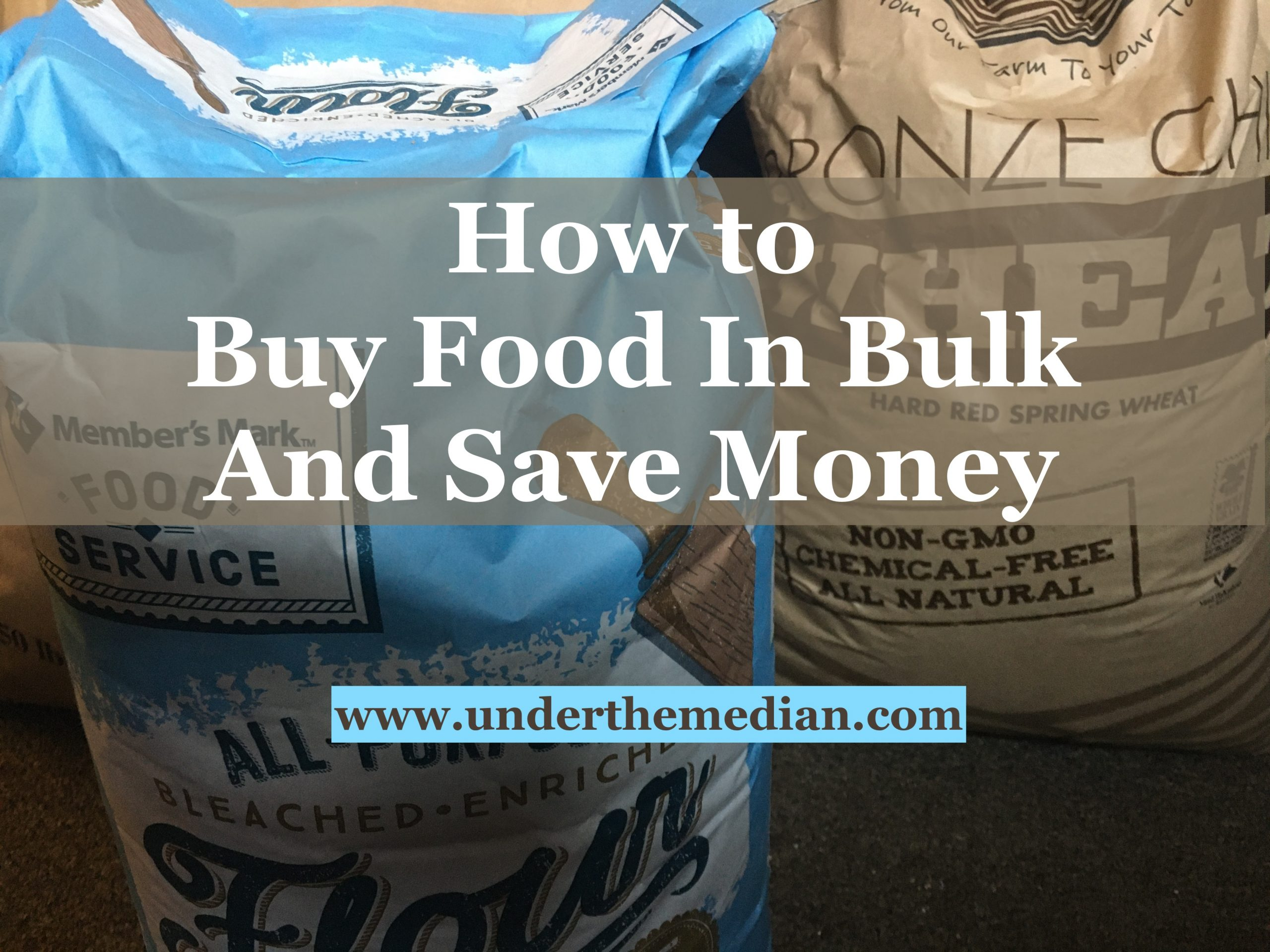 How to Buy Food in Bulk and Save Money