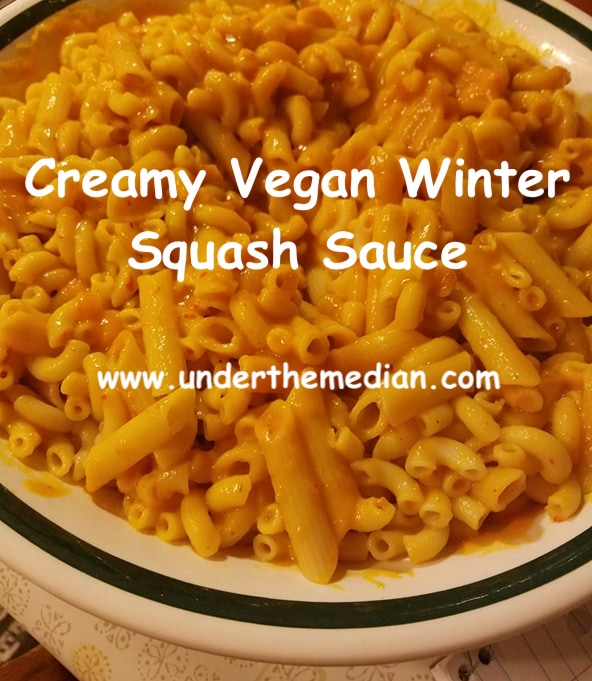 Creamy Vegan Winter Squash Sauce