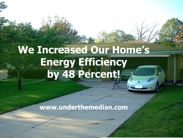 How We Increased Our Home's Energy Efficiency By 48%