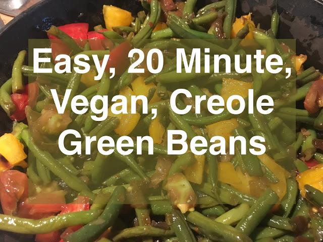 Easy, 20-Minute Vegan Creole Green Beans