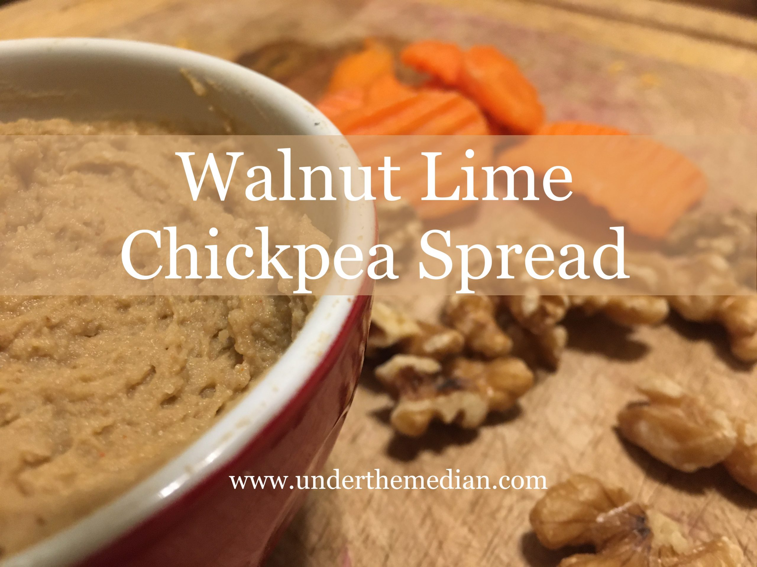 Walnut Lime Chickpea Spread