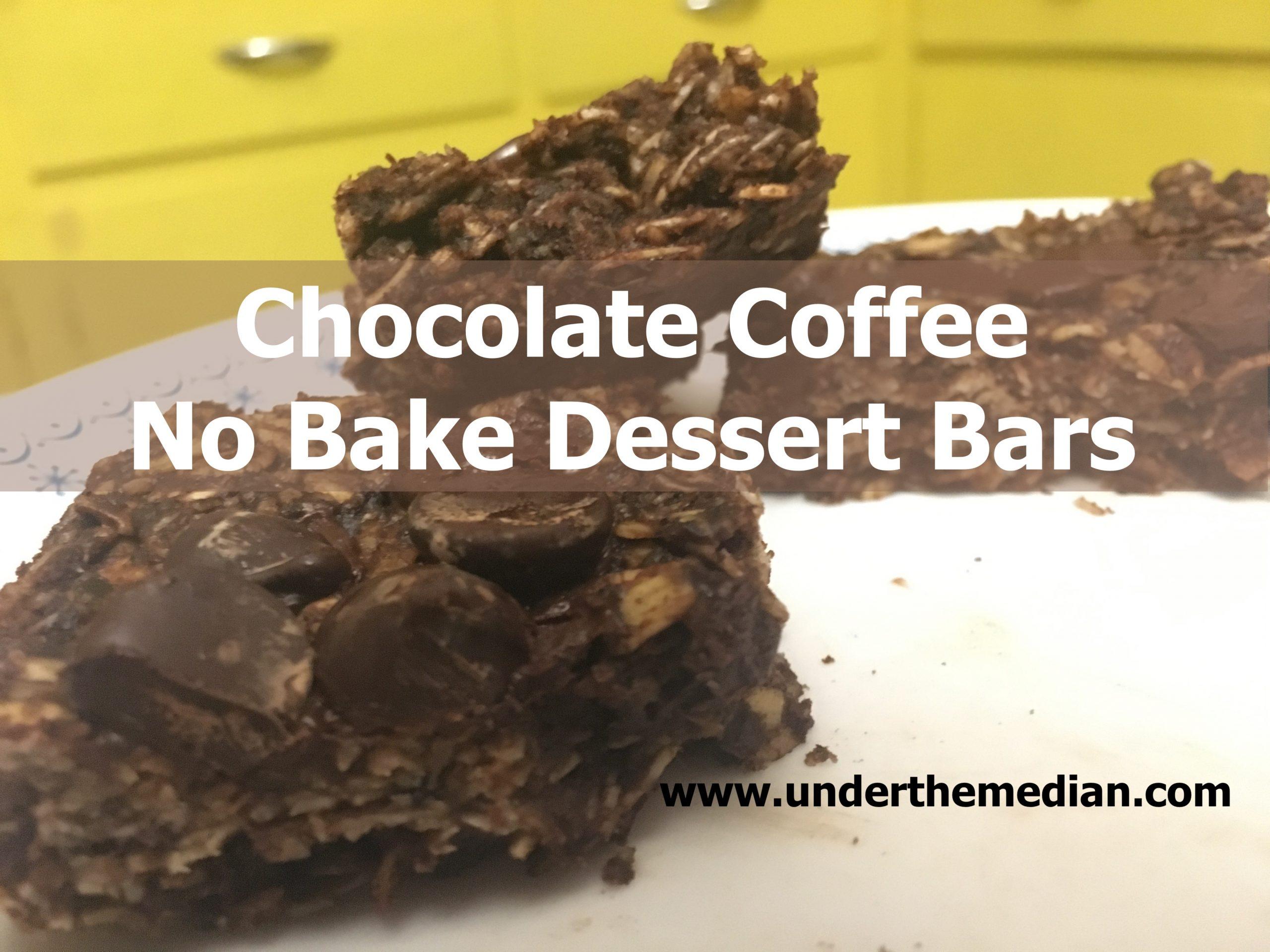 Chocolate Coffee No-Bake Dessert Bars (Vegan)